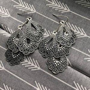 Costume earrings Sterling silver